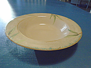 222 Fifth Bamboo Rimmed Soup Bowls