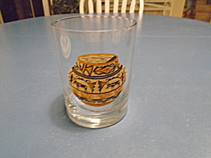 Couroc Aztec Or Sw Rocks/old Fashioned Glasses