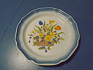 Mikasa Country Club Garden Treasures Dinner Plates