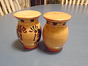 ACK Kokopelli Hand Painted Casa Vero Salt/Pepper Shakers (Image1)
