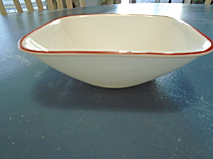 Corelle Kyoto Leaves Square Cereal Bowls (Image1)