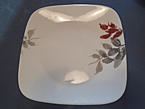 Corelle Kyoto Leaves Square Dinner Plates