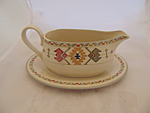 Mikasa Studio Nova Timberline Gravy Boat No Under Plate
