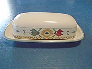 Mikasa Studio Nova Timberline Covered Butter Dish (Image1)