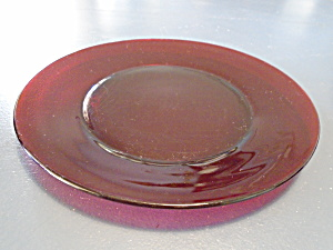 Anchor Hocking R1700 Ruby Red Dinner Plates