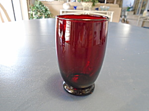 Anchor Hocking Baltic Royal Ruby Water Glasses