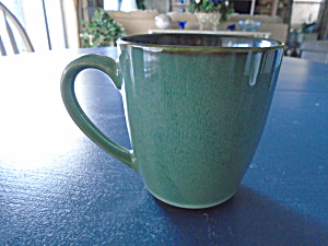 Sango Nova Green Mugs Set Of 2 For One Price