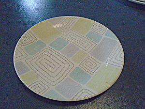 Corelle Infinia Geometric Lunch Plate
