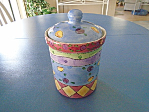 Sango Flour Canister Sweet Shoppe Pattern