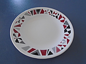 Corelle Mosaic Red Salad Plates