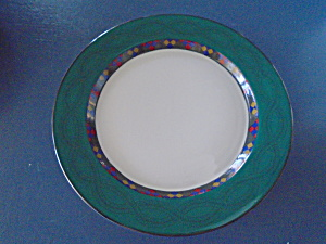 Dansk Emerald Braid Dinner Plates Portugal