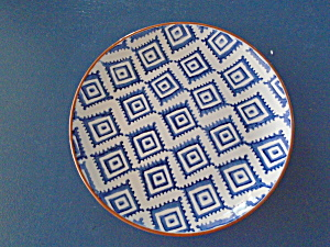 Noble Excellence Mykonos Terracotta Blue Salad Style 1