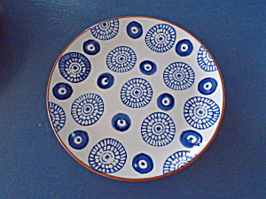 Noble Excellence Mykonos Terracotta Blue Salad Style 4