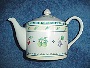 Interiors Orchard Fruits Tea Pot