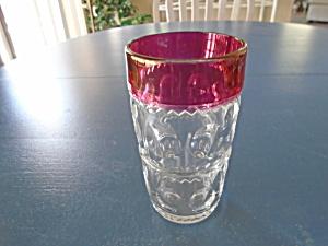 Vintage Kings Crown Ruby Red 5.5 in. Highball Glasses (Image1)