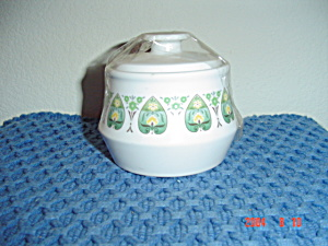 Noritake Progression Palos Verde Covered Sugar Bowl