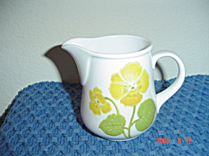 Noritake Progression Flower Time Creamer