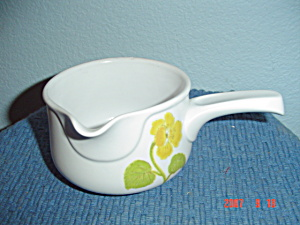 Noritake Progression Flower Time Gravy Boat