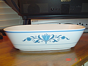 Noritake Progression Blue Haven Oval Serving Bowl