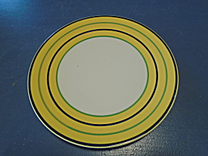 Pagnossin Bright Yellow Stripe Pgn3 W/blue And Green Stripes