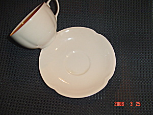 Johnson Bros. Rosedawn Cups And Saucers