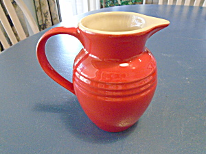 Le Creuset Red Small Pitcher (Image1)