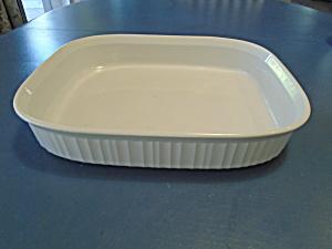 Corning Ware French White Lasagna Pan  (Image1)