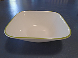 Corelle Kobe And Bamboo Leaf Square Soup/cereal Bowls