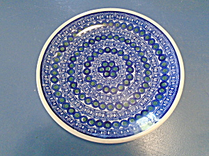 Boleslawiec Dinner Plate Made In Poland Can't Find Pattern Name