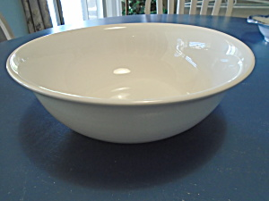 Pfaltzgraff Simply White Circles Serving Bowl