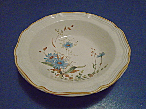 Mikasa Blue Daisies Serving Bowl