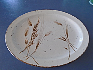 Wedgwood Midwinter Wild Oats Oval Platter