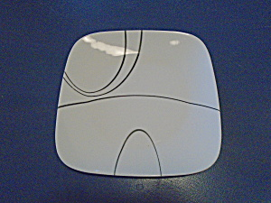 Corelle Square Simple Lines Dinner Plates