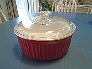 Corning Ware Colours Red 2.5 Covered Casserole