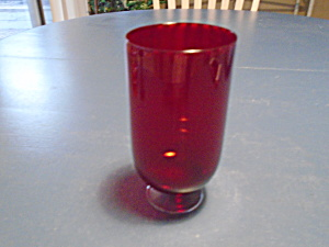 Lenox Holiday Vogue Ruby Wine Glasses