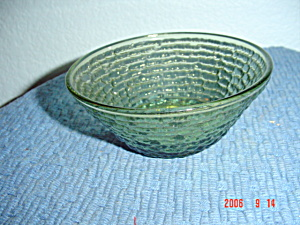 Fire King Soreno Green Cereal/dessert Bowls