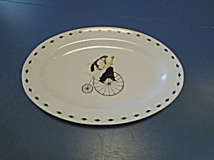Oneida Kitchen Chefs Oval Platter