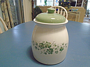 Corelle Jay Imports Callaway Ivy Cookie Jar