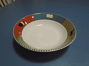 Sakura Barnyard Animals Brandon House Serving Bowl