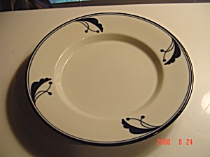 Dansk Bayberry Blue Rimmed Soup Bowls Portugal