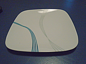 Corelle Ocean Arc Square Dinner Plates