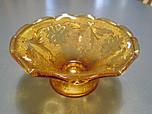 Indiana Glass Tiara Small Footed Bowl Sandwich Glass