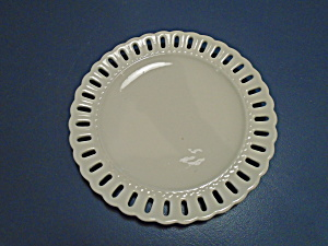 Portmeirion Studio Valerie Dinner Plates Lacy Edge Pretty