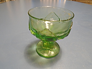 Franciscan Cabaret Green Tall Sherbet/champagne Glasses