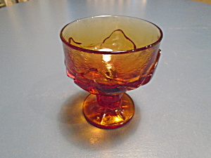 Franciscan Cabaret Persimmon Tall Sherbet/champagne Glasses