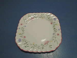 Johnson Bros. Summer Chintz Square Salad Plates