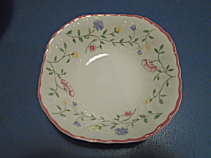 Johnson Bros. Summer Chintz Square Cereal Bowls