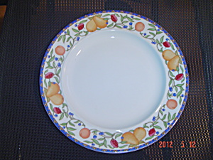 Dansk Fiance Fruits Dinner Plates