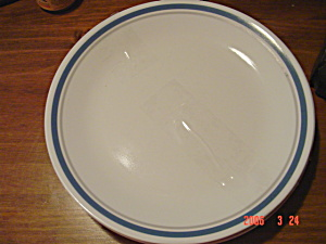 Corelle Indigo Blue Lunch Plates