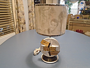 Elvis Presley Electric Lamp New W/shade Film Legends 2001